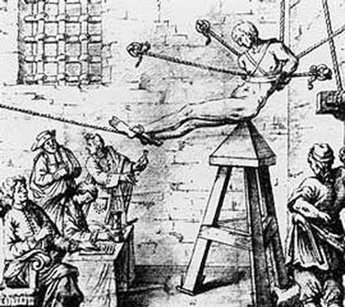 Орудие пытки- Колыбель Иуды. Бдение
