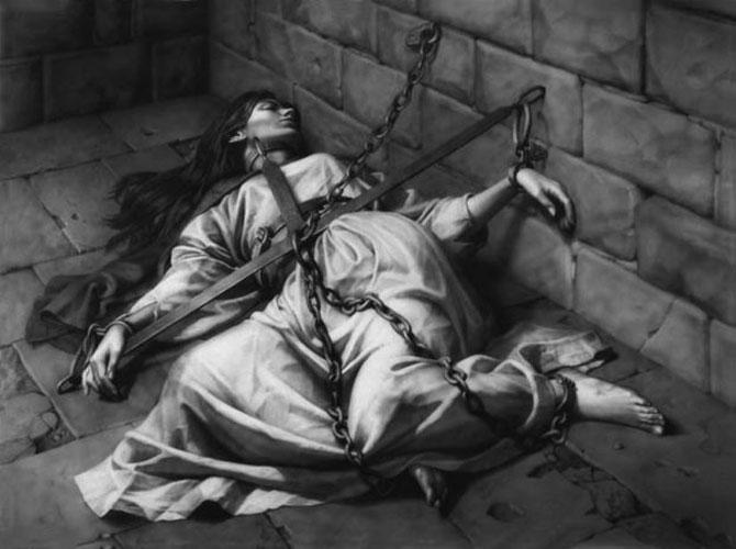 Орудие пытки-молитвенный крест