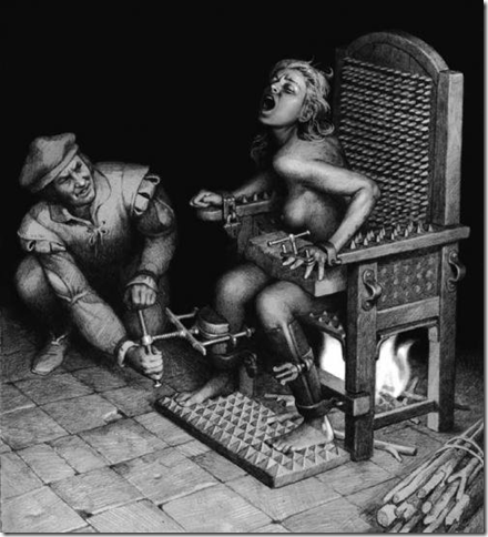Орудие пытки- кресло допросов